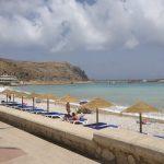 Javea, city beach (next to restaurants)